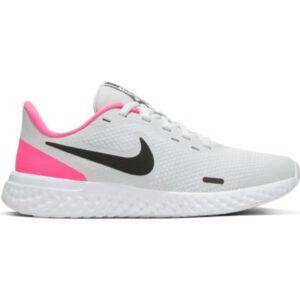 Nike Revolution 5 GS - Kids Running Shoes - Photon Dust/Black/Hyper Pink/White