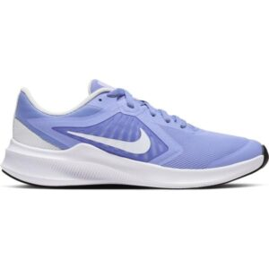 Nike Downshifter 10 GS - Kids Running Shoes - Light Thistle/White Photon Dust