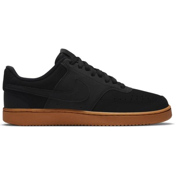 Nike Court Vision Low - Mens Sneakers - Black/Wheat