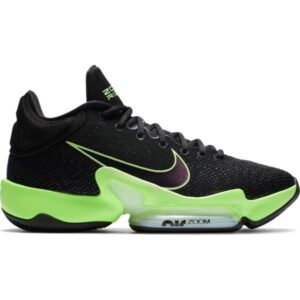 Nike Zoom Rize 2 - Mens Basketball Shoes - Black/Valerian Blue/Lime Blast