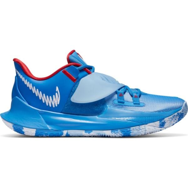 Nike Kyrie Low 3 - Mens Basketball Shoes - Pacific Blue/White