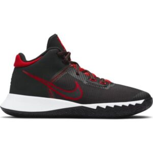 Nike Kyrie Flytrap IV GS - Kids Basketball Shoes - Black/University Red/White