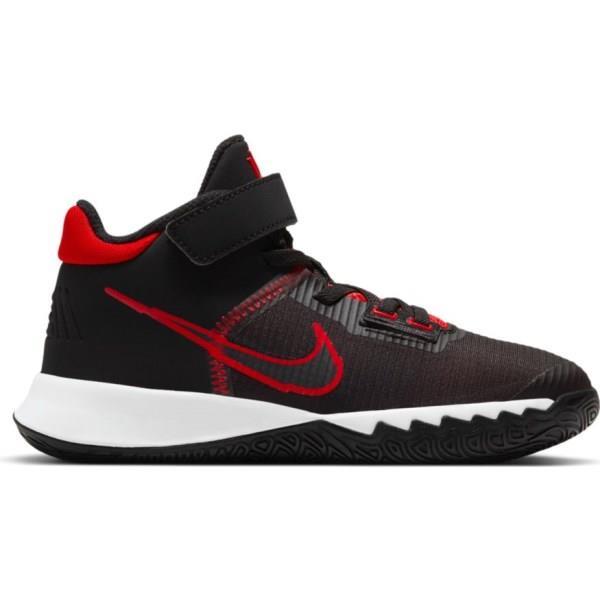 Nike Kyrie Flytrap IV PS - Kids Basketball Shoes - Black/University Red/White