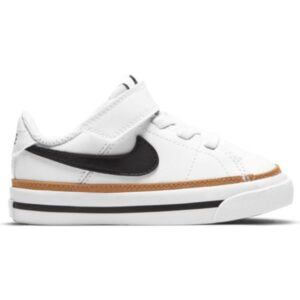 Nike Court Legacy - Toddler Sneakers - White/Black/Desert Ochre/Gum Light Brown