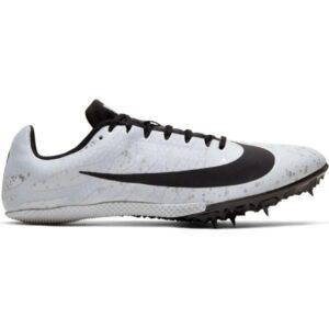 Nike Zoom Rival S 9 - Unisex Sprint Track Spikes - Pure Platinum/Black/Metallic Silver