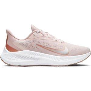 Nike Zoom Winflo 7 - Womens Running Shoes - Barely Rose/Metallic Red Bronze