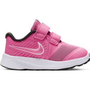 Nike Star Runner 2 TDV - Toddler Running Shoes - Pink Glow/Photon Dust