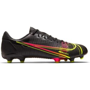 Nike Mercurial Vapor 14 Academy FG/MG - Mens Football Boots - Black/Cyber-Off Noir