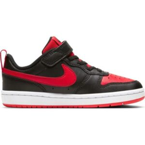 Nike Court Borough Low 2 PSV - Kids Sneakers - Black/University Red