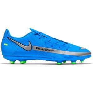 Nike Phantom GT Club FG/MG - Mens Football Boots - Photo Blue/Metallic Silver/Rage Green