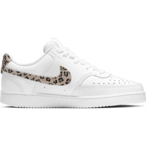Nike Court Vision Low - Womens Sneakers - White/Desert Sand/Black