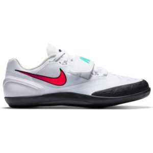 Nike Zoom Rotational 6 - Unisex Throwing Shoes - White/Flash Crimson/Black/Hyper Jade