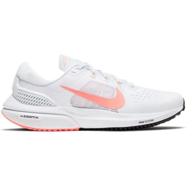 Nike Air Zoom Vomero 15 - Womens Running Shoes - White/Crimson Tint/Black