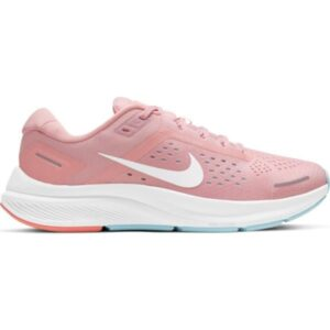 Nike Air Zoom Structure 23 - Womens Running Shoes - Pink Glaze/White Ocean Cube