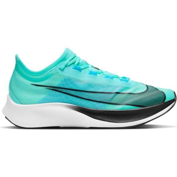 Nike Zoom Fly 3 - Mens Running Shoes - Aurora Green/Black/Blue