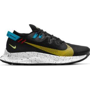 Nike Pegasus Trail 2 - Mens Trail Running Shoes - Black/Dark Sulphur