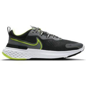 Nike React Miler 2 - Mens Running Shoes - Smoke Grey/Volt/Black