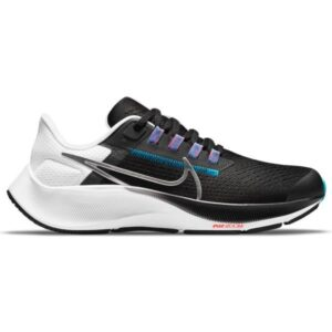 Nike Air Zoom Pegasus 38 GS - Kids Running Shoes - Particle Grey/White/Midnight Navy