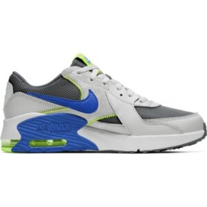 Nike Air Max Excee GS - Kids Sneakers - Iron Grey/Game Royal/Grey Fog/Volt