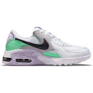 Nike Air Max Excee - Womens Sneakers - White/Dark Smoke Grey/Green Glow