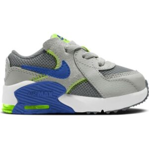 Nike Air Max Excee TD - Toddler Sneakers - Iron Grey/Game Royal/Grey Fog Volt