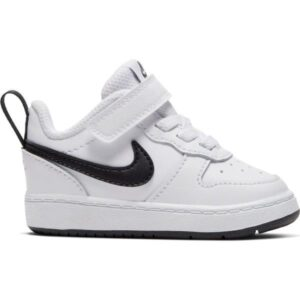 Nike Court Borough Low 2 TDV - Toddler Sneakers - White/Black
