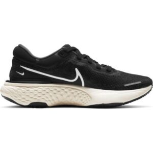 Nike ZoomX Invincible Run Flyknit - Womens Running Shoes - Black/White/Iron Grey