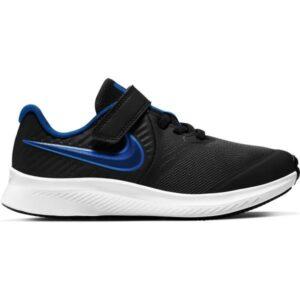 Nike Star Runner 2 PSV - Kids Running Shoes - Black/Game Royal/White