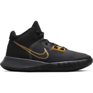 Nike Kyrie Flytrap IV GS - Kids Basketball Shoes - Black/Metallic Gold/Anthracite