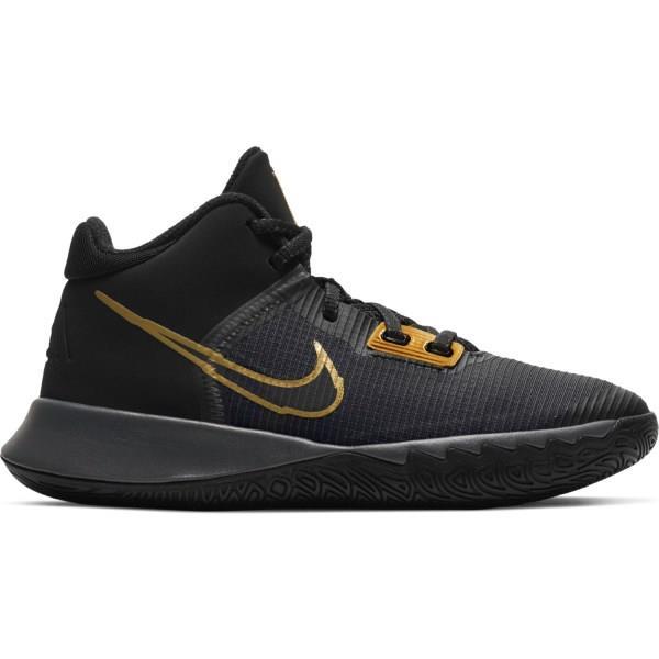 Nike Kyrie Flytrap IV GS - Kids Basketball Shoes - Black/Metallic Gold/Anthracite