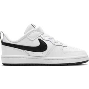 Nike Court Borough Low 2 PSV - Kids Sneakers - White/Black