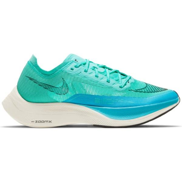 Nike ZoomX Vaporfly Next% 2 - Womens Running Shoes - Aurora Green/Black/Chlorine Blue
