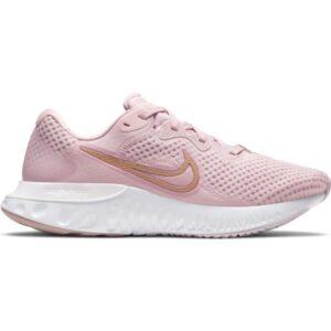 Nike Renew Run 2 - Womens Running Shoes - Champagne/Metallic Red Bronze/Light Violet