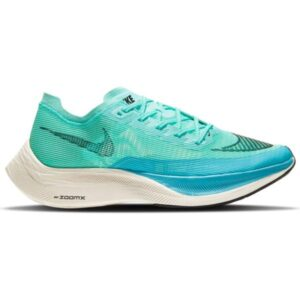Nike ZoomX Vaporfly Next% 2 - Mens Running Shoes - Aurora Green/Black/Chlorine Blue