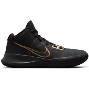 Nike Kyrie Flytrap IV - Mens Basketball Shoes - Black/Metallic Gold-Anthracite