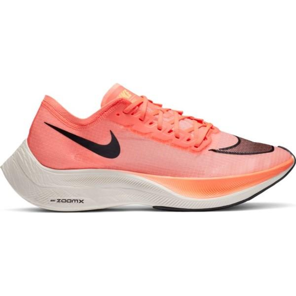 Nike ZoomX Vapor Fly Next% - Mens Running Shoes - Bright Mango/Blackened Blue/Citron Pulse