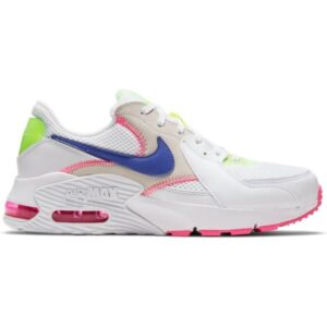 Nike Air Max Excee AMD - Womens Sneakers - White/Indigo Burst/Pink Blast Volt