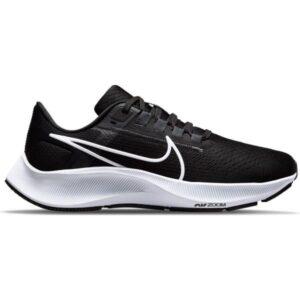 Nike Air Zoom Pegasus 38 - Womens Running Shoes - Black/White