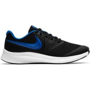 Nike Star Runner 2 GS - Kids Running Shoes - Black/Game Royal/White