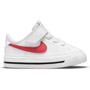 Nike Court Legacy - Toddler Sneakers - White/University Red/Black