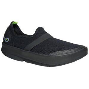 OOFOS OOmg - Womens Sneakers - Black/Black