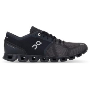On Cloud X Classic - Mens Running Shoes - Black/Asphalt