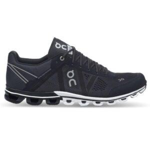 On Cloudflow Classic - Mens Running Shoes - Black/Asphalt