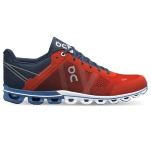 On Cloudflow Classic - Mens Running Shoes - Rust/Pacific