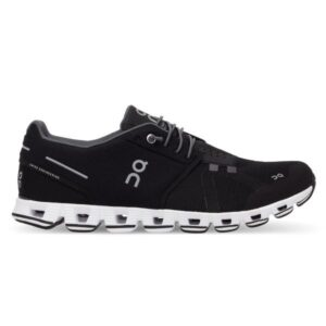 On Cloud - Mens Running Shoes - Black/White