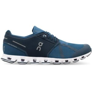On Cloud - Mens Running Shoes - Blue/Denim