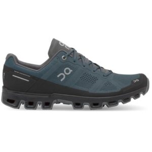 On Cloudventure - Mens Trail Running Shoes - Shadow/Rock