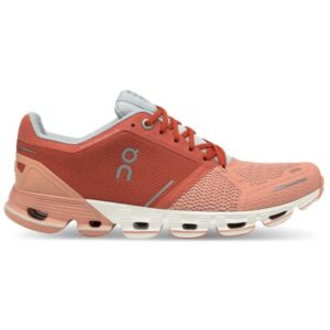 On Cloudflyer Classic - Womens Running Shoes - Ginger/White