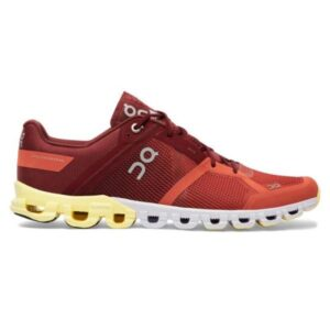 On Cloudflow - Mens Running Shoes - Rust/Limelight