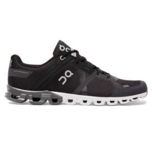 On Cloudflow - Mens Running Shoes - Black/Asphalt